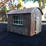 Gauge 1 Corrugated Hut.