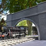 Gauge 1 bespoke tunnel entrance.