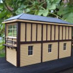 Gauge 1 Signal Box rear view.