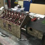 16mm Lynton Goods Shed Assembly