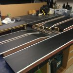 Gauge 1 Platforms ready for installation