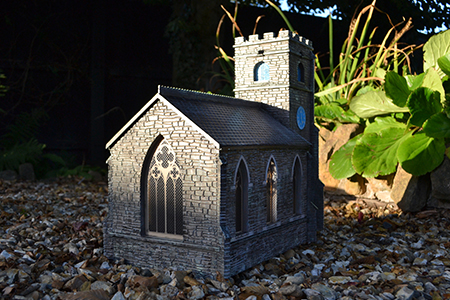 BM013 16mm Church Assembled & Painted