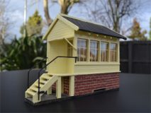 BM015 Gauge 1 Signal Box Assembled & Painted
