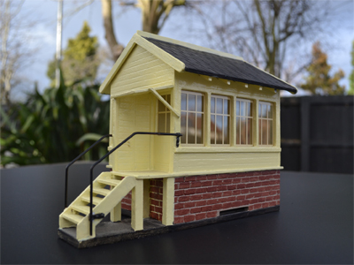 BM015 Gauge 1 Signal Box Flat Pack