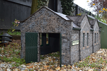 SP004 15mm Port Erin Engine Shed Assembled & Painted