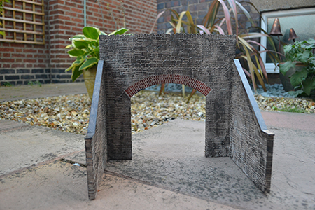BM012 16mm Stone Tunnel Entrance Flat Pack Only